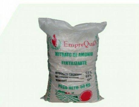 Nitrato de Amonio Fertilizante