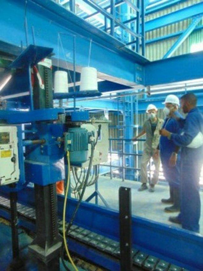 Fábrica de Fertilizantes Nitrogenados NPK (Nitrógeno, Fósforo y Potasio)