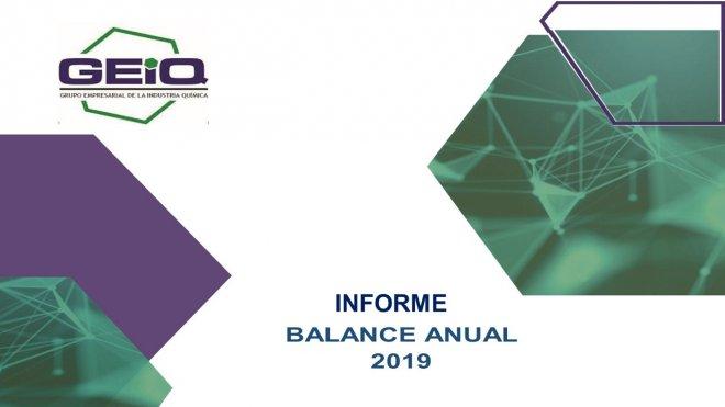 Informe Balance Anual 2019