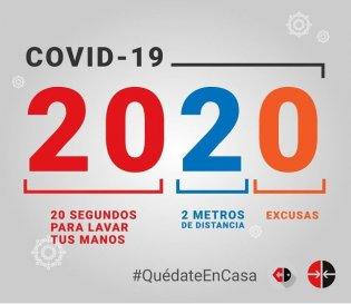 COVID-19 azotando el 2020