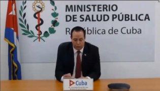 Transmisión en Vivo del Ministro de Salud Pública de Cuba.